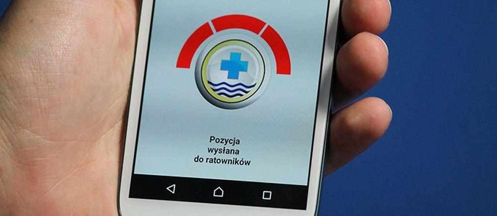 Bądź bezpieczny nad wodą.  Użyj aplikacji RATUNEK | Czarter jachtów Mazury – Giżycko.