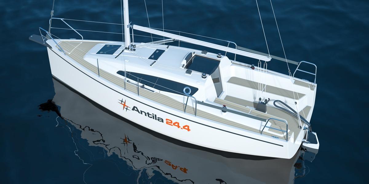 Jacht czarterowy Antula 24.4