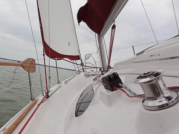 Czarter jachtów Mazury - Giżycko - Jacht na jeziorze